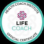 Health Coach Institute Life Coach Certification Seal