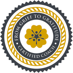 From Grief to Gratitude Certification Seal